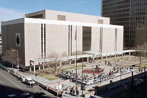 Budynek sądu federalnego w Denver