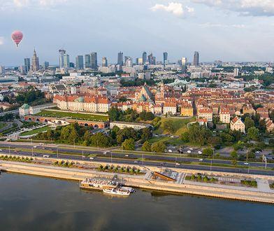 Warszawa. Do wypadku doszło w poniedziałek rano na Wisłostradzie