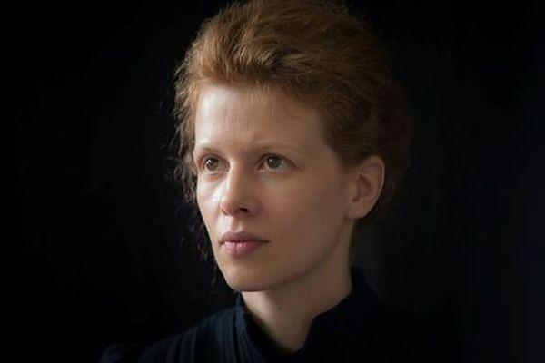 "Karolina Gruszka jako ""Maria Curie"""