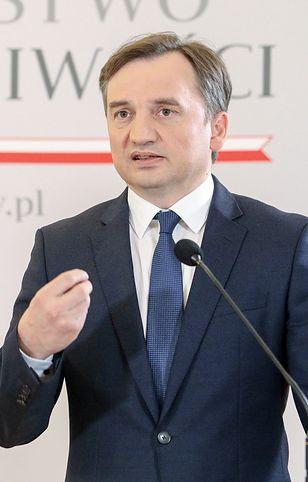 Zbigniew Ziobro wystąpił na konferencji prasowej