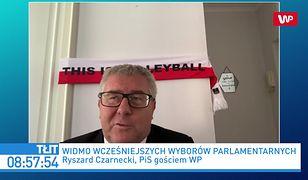 """Zjednoczona Prawica w rozpadzie. Dymisja Zbigniewa Ziobry? Ryszard Czarnecki: """"PiS posiada szereg kandydatów"""""""