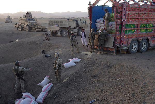 Wielki sukces naszych sił w Afganistanie - przejęto rekordową ilość materiałów wybuchowych