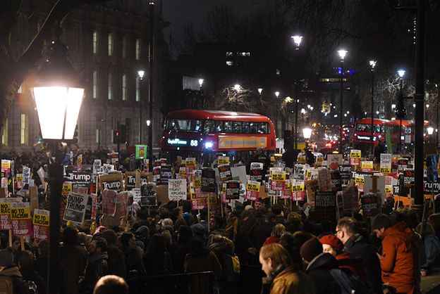 Demonstracje przeciwko dekretowi Trumpa ws. uchodźców