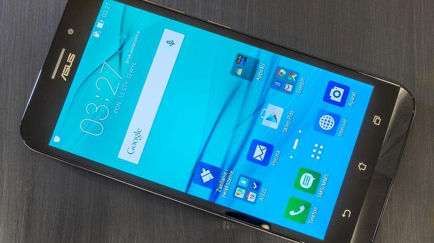 ASUS ZenFone Max ma duży akumulator i zastąpi powerbank