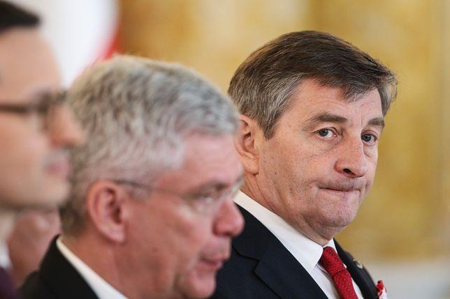 Marek Kuchciński w ogniu krytyki z powodu tzw. afery samolotowej