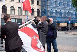 Awantura o flagę. Białoruś wydala łotewskich dyplomatów. Łotwa odpowiada