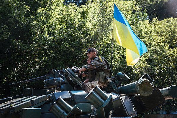 568 żołnierzy ukraińskich zginęło w operacji przeciw prorosyjskim rebeliantom