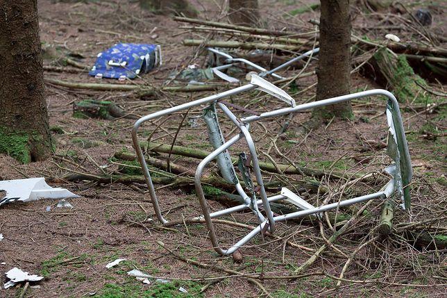 Leśnicy szukają firmy, która zamiast zutylizować śmieci, wyrzuciła je do lasu.