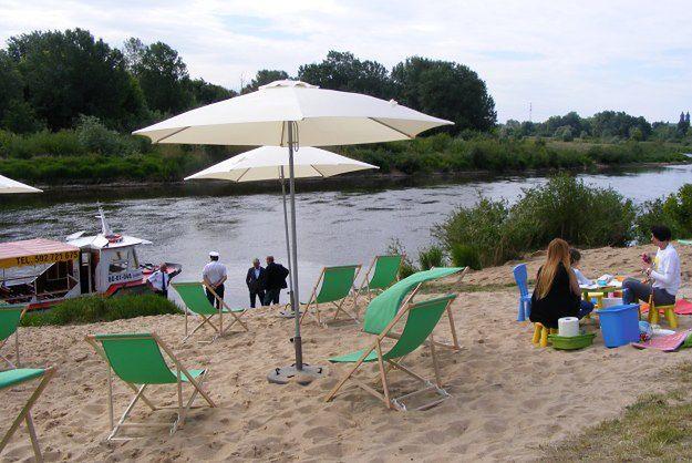 Lato w Poznaniu nad Wartą - będzie czwarta plaża i tramwaj wodny