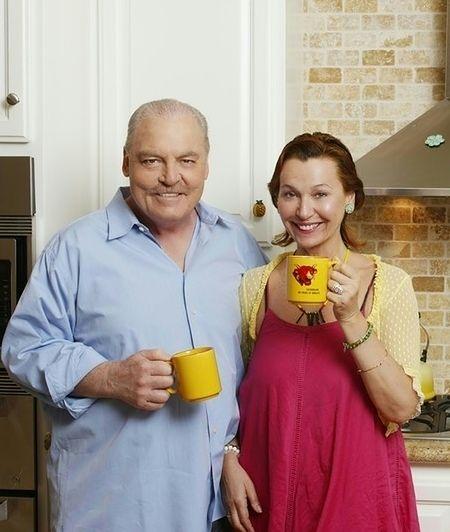 Stacy Keach i Małgorzata Tomassi