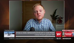 """Łukasz Krasoń o sytuacji osób niepełnosprawnych w Polsce. """"Dziś każdy może wejść w nasze buty"""""""