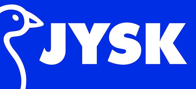 W logo sklepów Jysk znajduje się rysunek gęsi