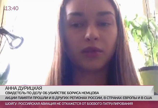 Partnerka Niemcowa: morderca był za moimi plecami