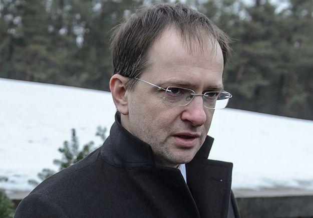 Minister kultury Federacji Rosyjskiej Władimir Medinski.