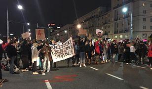 Protesty trwają od piątku, 23 października