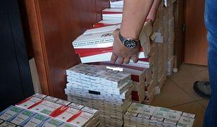 Śląskie. 40 tysięcy nielegalnych papierosów. Sukces policji w Tychach