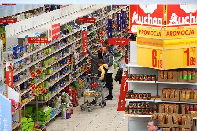 Najtańsze zakupy oferował Auchan.