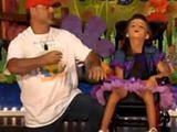 Ojciec zatańczył z niepełnosprawną córką