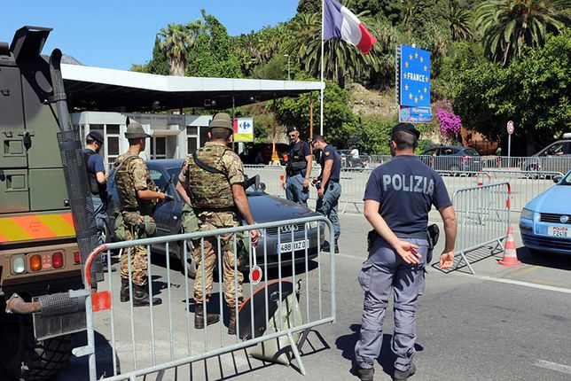 Wzmożone kontrole na granicy francusko-włoskiej.