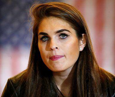 Hope Hicks zrezygnowała z pracy w Białym Domu