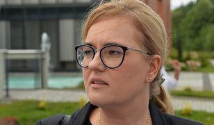 Magdalena Adamowicz poleciała do Aten