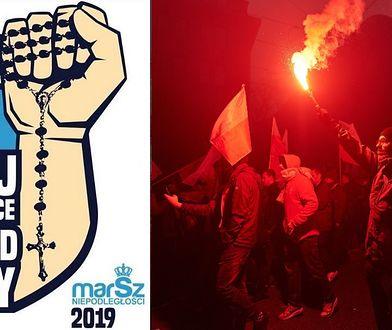 Marsz Niepodległości 2019. Robert Bąkiewicz, organizator wydarzenia odniósł się do kontrowersji wokół tegorocznej grafiki.