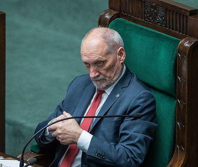 Marszałek senior Antoni Macierewicz