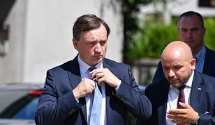 Zbigniew Ziobro pojawił się przy ul. Nowogrodzkiej
