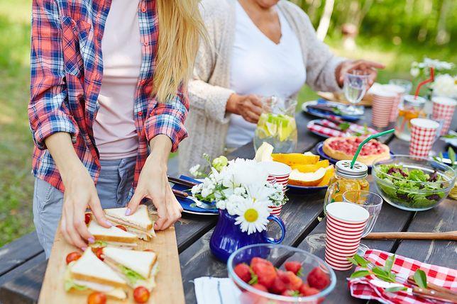 Jak przygotować menu na przyjęcie w ogrodzie?