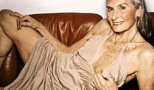 Najstarsza modelka świata poluje na staniki Brytyjek