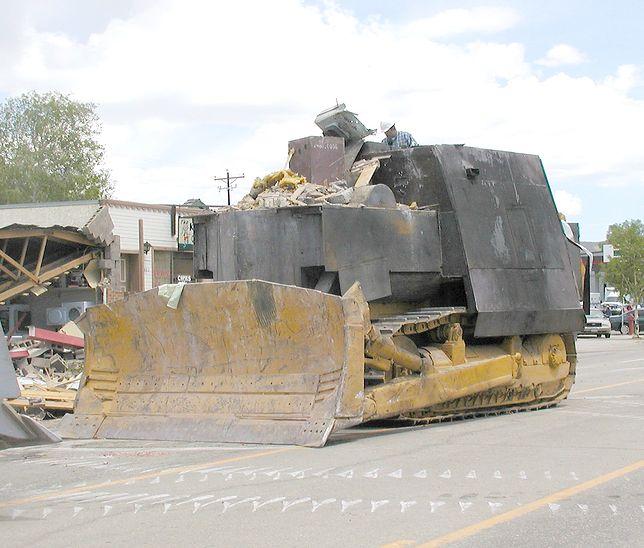 Killdozer - zmodyfikowany buldożer Marvina Heemeyera