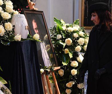 Marzena Dębska podziękowała uczestnikom uroczystości pogrzebowych