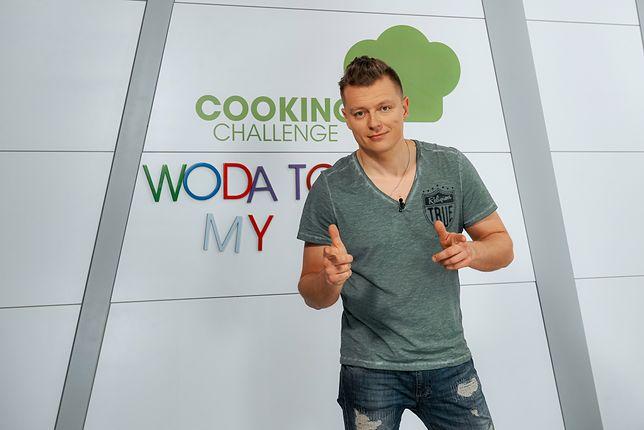 Rafał Brzozowski z ważnym przesłaniem w kuchni Cooking Challenge!
