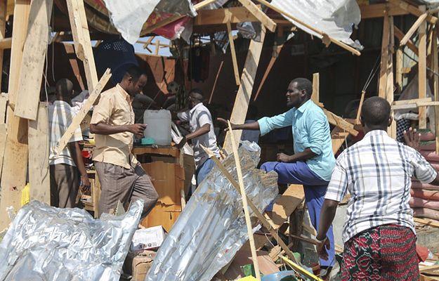 Mogadiszu: eksplozja na placu targowym, 35 osób nie żyje