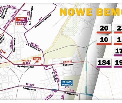 ZTM planuje zmiany tras i rozkładów 26 linii autobusowych po otwarciu metra na Woli