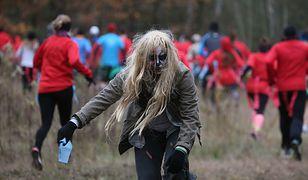 """Uciekali przed zombie. Tak wyglądał """"Run or Death"""" w Lesie Trupów [GALERIA]"""