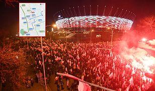 Warszawa. 11 listopada stolicę czeka paraliż komunikacyjny, część linii tramwajowych będzie zawieszona