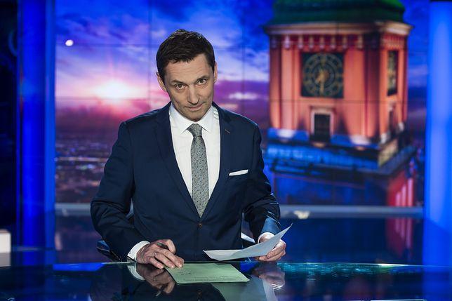 """Krzysztof Ziemiec jest prezenterem """"Wiadomości"""""""