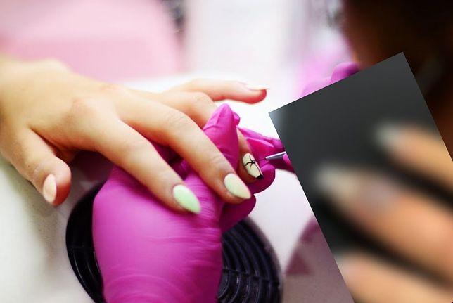 Zrobiła manicure w salonie. Po wszystkim spuchł jej palec