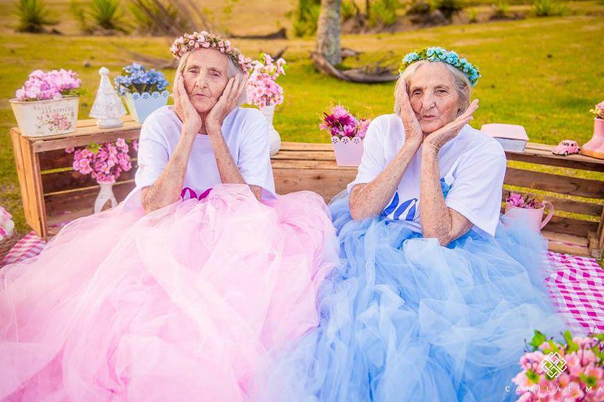 100-letnie bliźniaczki Maria i Paulina Pignaton
