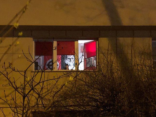 Widok z ulicy na warszawskim Powiślu