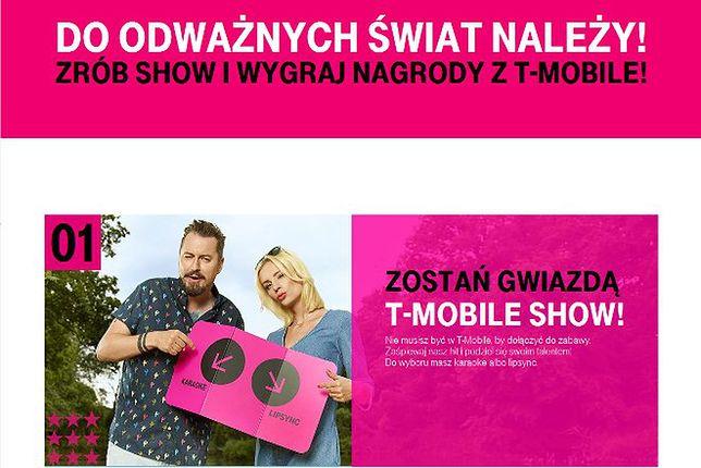 T-Mobile Show: nagraj teledysk i zostań gwiazdą telewizji lub wygraj smartfona