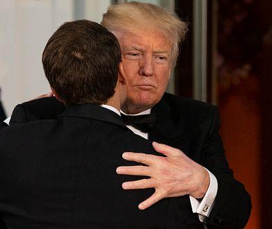"""Wizyta Macrona w Waszyngtonie była początkiem """"bromansu"""""""