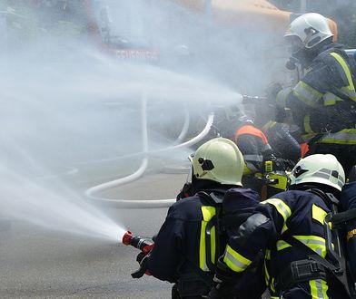 Ogień zniszczył tony dokumentów z kancelarii adwokackich i komorniczych