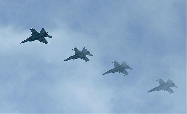 F-18 Sił Powietrznych Stanów Zjednoczonych