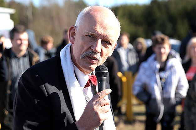 Jarosław Kaczyński o Januszu Korwin-Mikkem: patologia, cyrkowiec, klaun