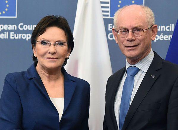 Premier Ewa Kopacz w Brukseli: postawiłam twarde warunki