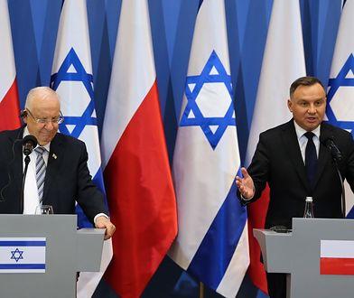 Andrzej Duda i Reuwen Riwlin