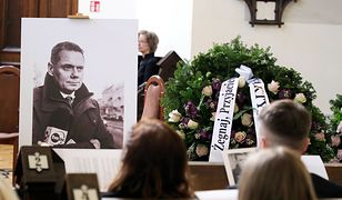Pogrzeb Rafała Poniatowskiego. Ostatnia droga dziennikarza TVN