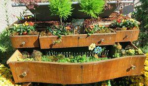 Tanie i urocze dekoracje ogrodowe. Zrób to sam